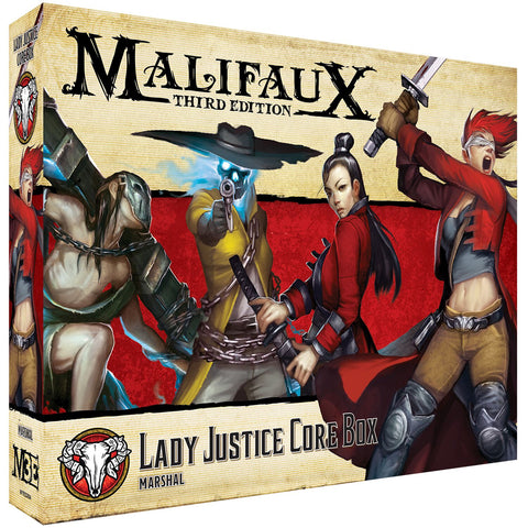 Malifaux (M3E): Lady Justice Core Box Expected July 2019 Release