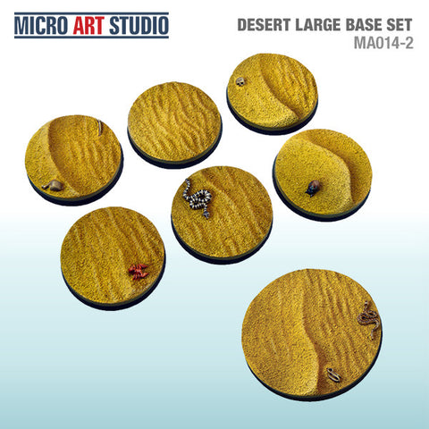 Desert Large Base Set of 7 (40mm/50mm)