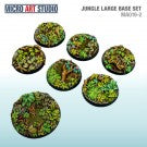 Jungle Large Base Set of 7 (40mm/50mm)