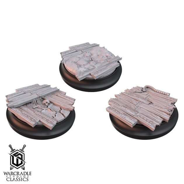 Wild West: Red Oak Medium Base Toppers