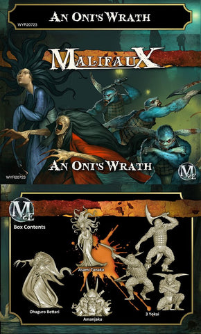 An Oni's Wrath - M2E (Box of 6 miniatures) Free Guilder Inclueded WYR20723