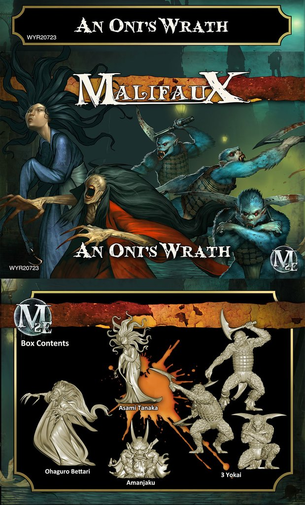 An Oni's Wrath - M2E (Out of Box - 6 miniatures) WYR20723