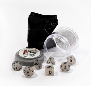 Pizza Dungeon Dice: Boss Starlight Glitter (7-die set)