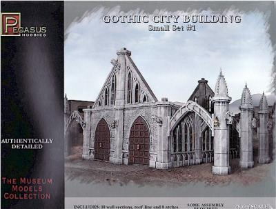 Gothic City Building Small Set #1 PGH4924