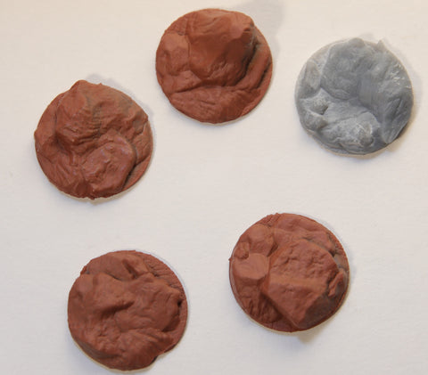 Wild West Exodus - Small Rocky Base Inserts - Bases Sold Seperate