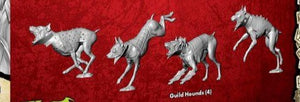Guild Hounds (4 Miniatures) From Run Them Down M3E