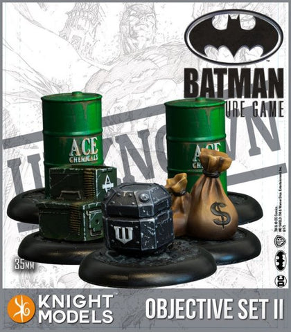 Batman: Objective Game Markers Set 2