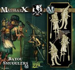 Bayou Smugglers M2E (Box of 2 Miniatures) WYR20642-With Attached M3E Cards