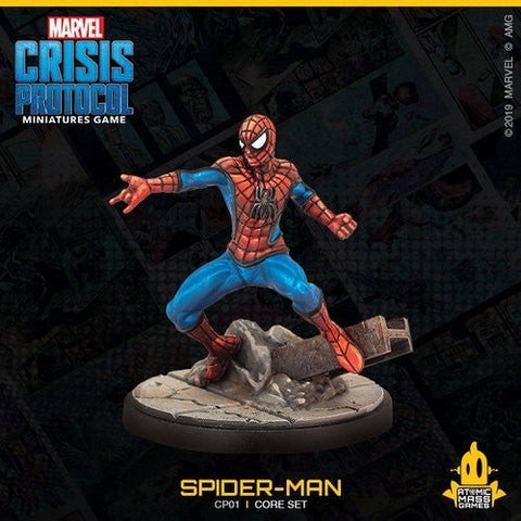 Spiderman from the Crisis Protocol Core Set