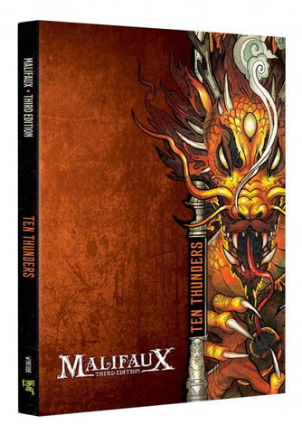 Malifaux (M3E): Ten Thunders Faction Book (Expected November 2019 Release)