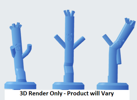 Waving Inflatable Tube Men For Gaslands Terrain