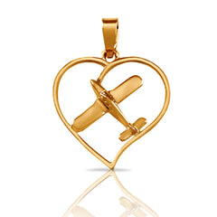 Aero-Gold Pendants & Charms