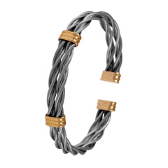 New Twist Cable Bracelets