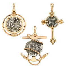 Replica Coin Necklaces & Pendants