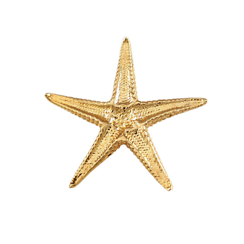 "13/16"" Starfish Hidden Bail Charm - Underside - Lone Palm Jewelry"