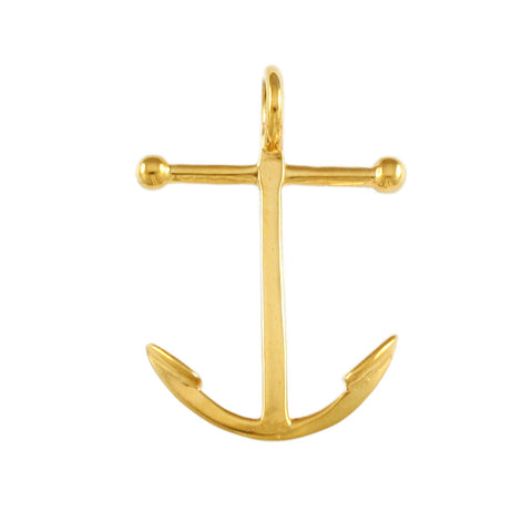 "1 1/4"" Plain Anchor - Lone Palm Jewelry"