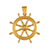 "10241 - 1 3/8"" Ship's Wheel - Lone Palm Jewelry"
