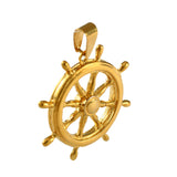 "1 3/8"" Ship's Wheel - Lone Palm Jewelry"
