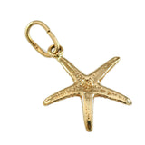 "1/2"" Delicate Starfish Charm - Lone Palm Jewelry"