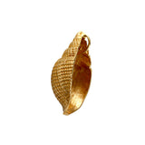 "10488 - 1 1/16"" Nutmeg Shell Pendant with Hidden Bail"