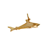 "10549 - 1 ⅛"" Hollow Shark Pendant"