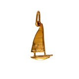"10676 - 11/16"" Sailboat Hobie Cat Pendant"