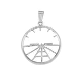 11028 - Altitude Indicator Artificial Horizon Pendant - Large