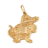 "11084 - 3/4"" Classic Fighting Albert Gator Pendant - Lone Palm Jewelry"