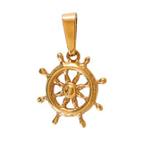 "11225 - 11/16"" Ship's Wheel Pendant"