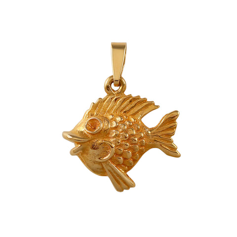 "11297 - 7/8"" Tropical Fish Pendant"