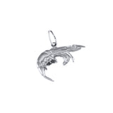 "11304 - 9/16"" Shrimp Charm - Lone Palm Jewelry"