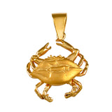 "11307 - 1"" 3D Blue Crab Pendant"
