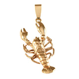 "11322 - 1 3/16"" Lobster Pendant - Lone Palm Jewelry"