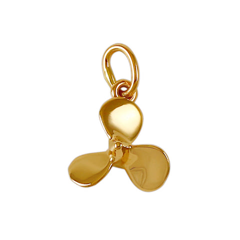 "11366 - 3/8"" 3 Bladed Boat Propeller Charm"