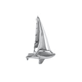 "11881 - 1⅛"" Sailboat Beneteau Pendant - Lone Palm Jewelry"