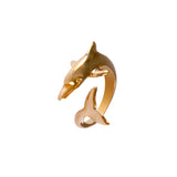 12360 - Wrapped Dolphin Ring - Lone Palm Jewelry