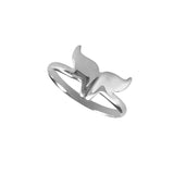 12414 - Dolphin Tail Ring - Lone Palm Jewelry
