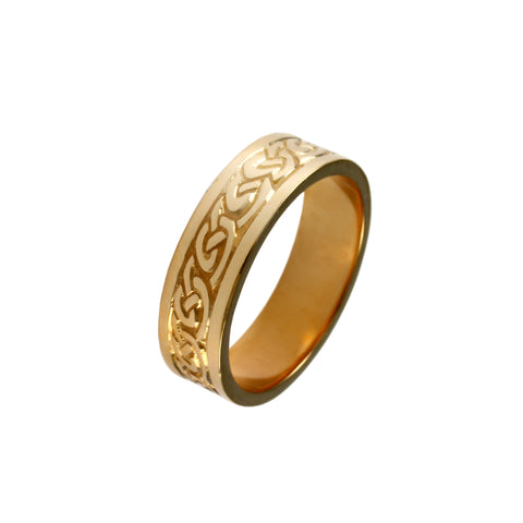 12470 - Thick Celtic Knot Band - Lone Palm Jewelry