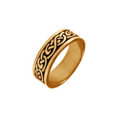 12471 - Thick Celtic Knot Band - Lone Palm Jewelry