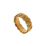 12472 - Thin Braided Rope Ring - Lone Palm Jewelry