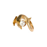 12850 - Mother and Baby Ring with Pearl - Lone Palm Jewelry