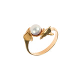 12853 - Passing Dolphins with Pearl Ring - Lone Palm Jewelry