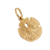 "5/8"" Sand Dollar Charm - Lone Palm Jewelry"