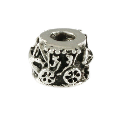 Horse Drawn Carriage Bead - Lone Palm Jewelry