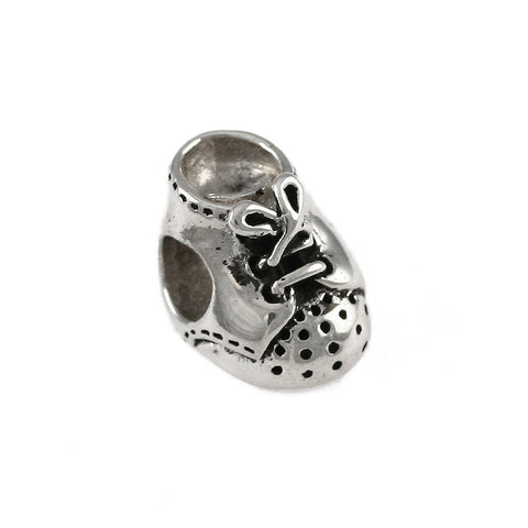 Baby Shoe Bead - Lone Palm Jewelry
