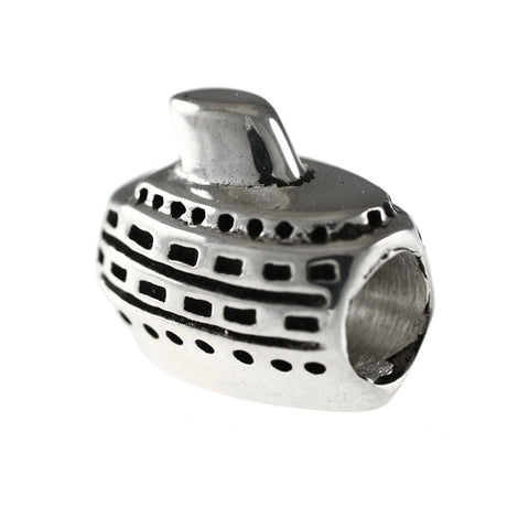 Cruise Ship Boat Bead - Lone Palm Jewelry