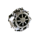 Captain's Ship Wheel Bead - Lone Palm Jewelry