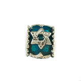 Enameled Star of David Bead - Lone Palm Jewelry