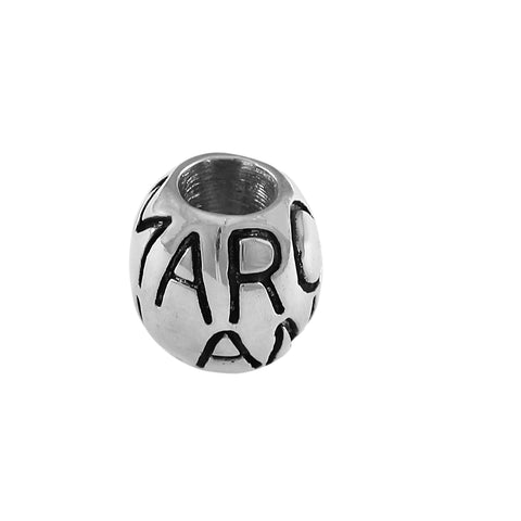 13294 - MARCO ISLAND Engraved bead