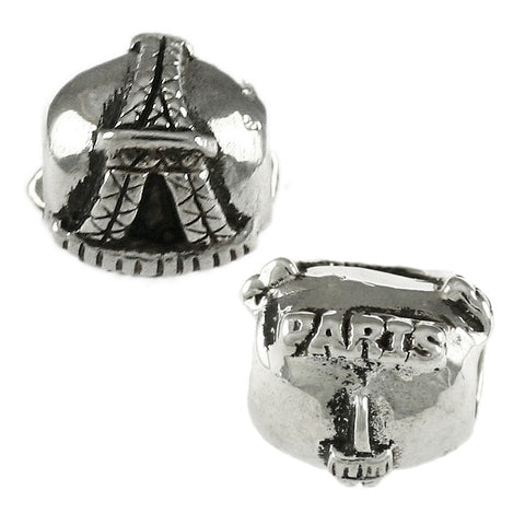 "Eiffel Tower ""PARIS"" Bead - Lone Palm Jewelry"